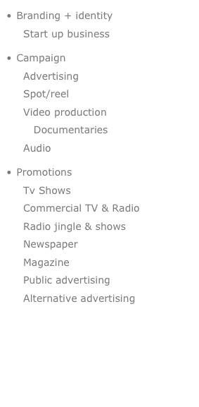 Branding + identity   